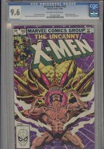 Uncanny X-Men 162   CGC 9.6