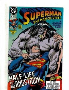 12 DC Comics Man of Steel 4 5 6 13 Deadman 1 2 3 4 Megalith Toyboy Eerie + HG3