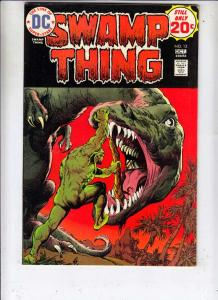 Swamp Thing #12 (Oct-74) VF+ High-Grade Swamp Thing