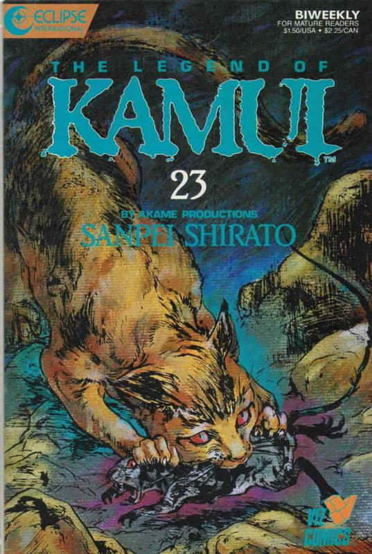 Legend of Kamui, The #23 VF/NM; Eclipse   save on shipping - details inside