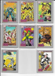 DC Comics Cosmic Cards Inaugural Edition (huge set of 123/180)