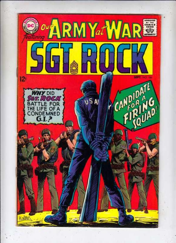Our Army at War #184 (Sep-67) VG/FN- Mid-Grade Easy Company, Sgt Rock