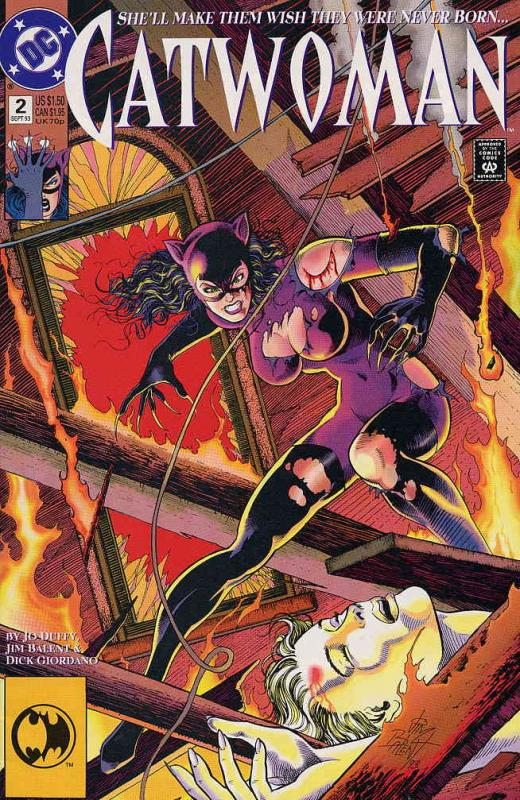 Catwoman (2nd series) #2 VF/NM DC - save on shipping - details inside