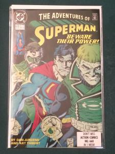The Adventures of Superman #473 Beware Their Power!