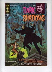 Dark Shadows #9 (Jan-71) VF/NM High-Grade Barnabus Collins