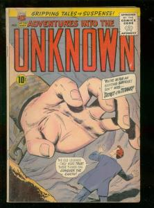 ADVENTURES INTO THE UNKNOWN #123 1961 VG