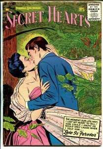 Secret Hearts #35 1956-DC-forest romance-early code issue--romance-VG/FN