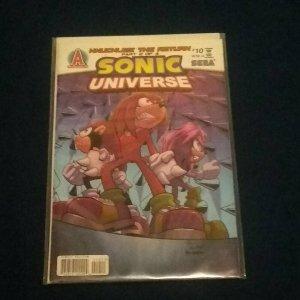 Sonic Universe #10, (2010, Archie Comics): Knuckles - The Return #3!