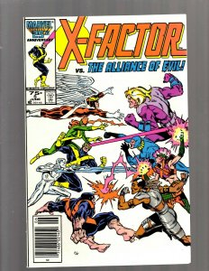 X-Factor # 5 NM 1st Apocalypse Appearance Marvel Comic Book X-Men Wolverine SB5