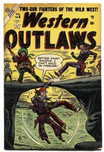 WESTERN OUTLAWS #6-1954-atlas western 1954-tuska