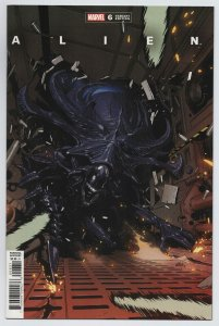Alien #6 Yu Variant (Marvel, 2021) NM