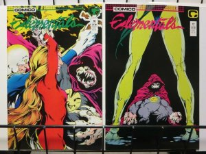 ELEMENTALS (1984-1988) 16-17 complete story arc