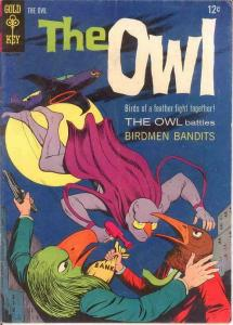 OWL (1967-1968 GK)  1 FINE  1967  Jerry Siegel story COMICS BOOK