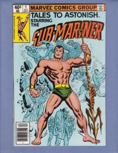 Tales To Astonish #1 FN Namor Sub-Mariner Marvel 1979