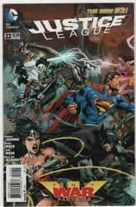 Justice League #22 The New 52 9.4 Trinity War Part 1 Reis Variant