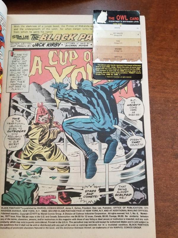BLACK PANTHER #6  1977