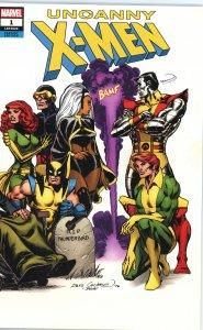 Uncanny X-Men (2019) 1  Cockram Wrap Around Variant  9.0 (our highest grade)