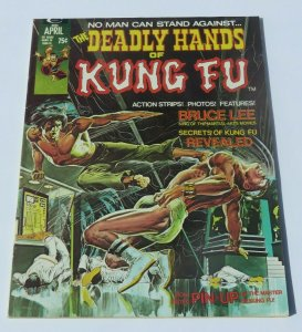 The Deadly Hands of Kung Fu #1 VF+ High Grade Bruce Lee 1st Daughters of Dragon