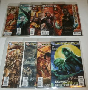 Great Ten #1-9 (set of 8) 2010 DC, Bedard/McDaniel, signed by Andy Owens