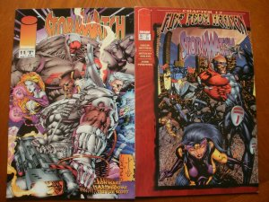 2 Near-Mint Image STORMWATCH #11 (1994) #36 (Fire From Heaven) (1996) Choi Lee