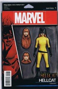 Patsy Walker AKA Hellcat #1 2016 Marvel John Tyler Christopher Figure Cover
