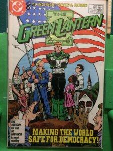 Green Lantern #210 Corps