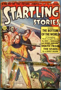 Startling Stories Pulp September 1941- Burroughs- Alien cover reading copy