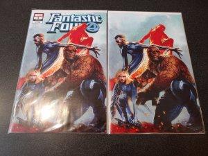Fantastic Four #1 Two Cover Set Gabriele Dell'Otto