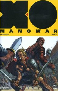 X-O Manowar 2017 #17A VF/NM; Valiant   save on shipping - details inside