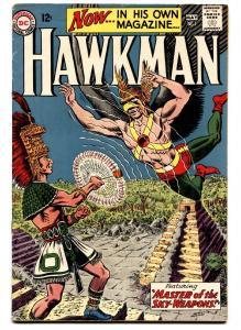 Hawkman #1 VG+ Silver-Age DC comic book Murphy Anderson - 1964