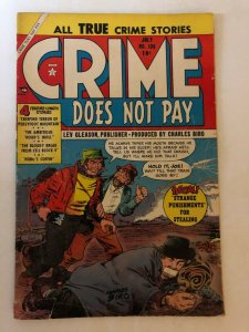 CRIME DOES NOT PAY  (Lev Gleason) 136 GOOD July 1954 Tuska, Sekowsky PRE CODE