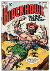 BLACKHAWK #179 1962-DC COMICS-WILD GIANT COVER G