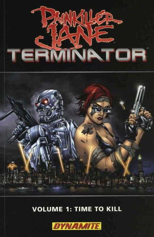 Painkiller Jane vs. Terminator #1 VF/NM; Dynamite | save on shipping - details i