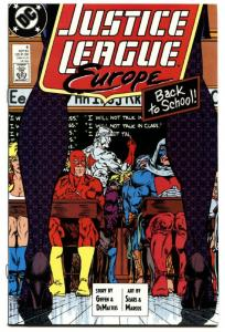 Justice League Europe #6 NM -FIRST Crimson Fox-Comic Book-Powerless