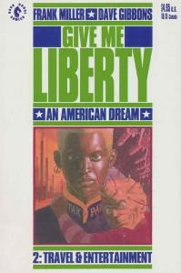 Give Me Liberty #2 VF; Dark Horse | save on shipping - details inside