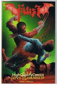 FAUST #4, Vol 2, VF/NM, Tim Vigil, Movie, Horror, 1991, more indies in store