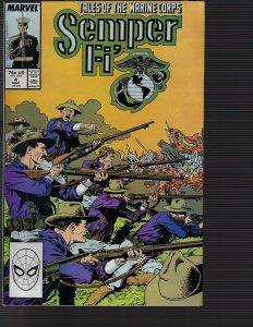 Semper Fi' #4 (Marvel, 1988)
