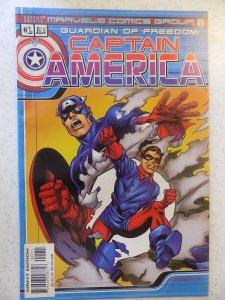 MARVEL COMICS CAPTAIN AMERICA # 1