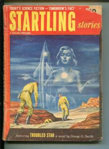 STARTLING STORIES 2/1953-THRILLING PUBS-ISAAC ASIMOV-SCI-FI PULP-fr