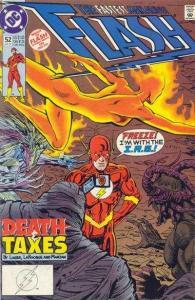 Flash (1987 series) #52, NM- (Stock photo)