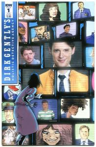 DIRK GENTLY #1 Salmon of Doubt, NM, Holistic Detective Agency, 2016, Sub cover
