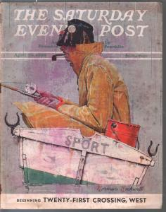 Saturday Evening Post 4/29/1939-Norman Rockwell cover-complete mag-VG/FN