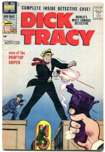 DICK TRACY #135 1959-CHESTER GOULD-HARVEY-ROOFTOP SNIPER vg-