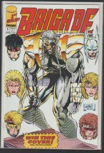 BRIGADE #1 - 1st ISSUE! - IMAGE COMICS - N/M