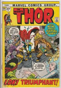 Thor, the Mighty #194 (Dec-71) VG/FN- Mid-Grade Thor