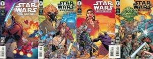 STAR WARS JEDI COUNCIL ACTS OF WAR (2000 DH) 1-4 COMICS BOOK