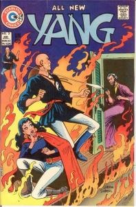 YANG (1973-1976 CH) 3 FINE July 1974 COMICS BOOK
