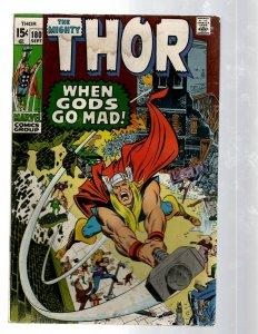 Mighty Thor # 180 VG- Marvel Comic Book Loki Odin Asgard Sif Avengers Hulk RB8