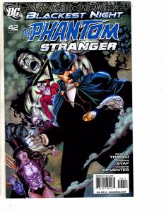 Lot Of 4 Phantom Stranger DC Comic Books # 2 3 4 42 Blackest Night J210