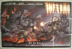 INFERNO HELLBOUND Promo poster, 36x24, 2001, Unused, more Promos in store